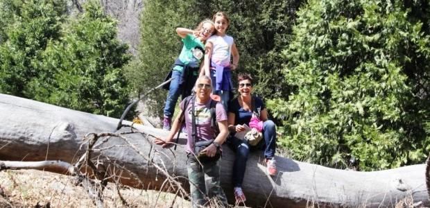 """Barbara con Andrea, Caterina e Melissa """"la famiglia è come una squadra dove ognuno gioca un ruolo diverso"""""""