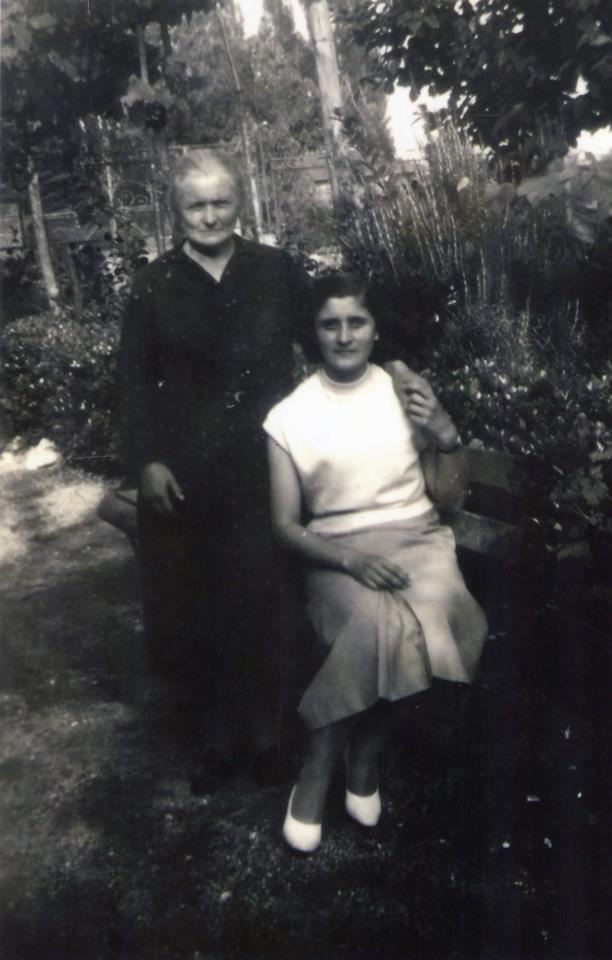 mamma Imelde e nonna Rosa