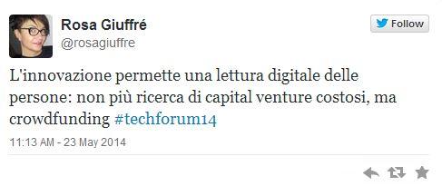 Technology Forum Ambrosetti con Rosa Giuffre 2