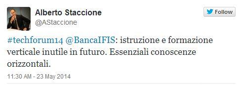 thecnlogy forum Ambrosetti con Rosa Giuffre 3
