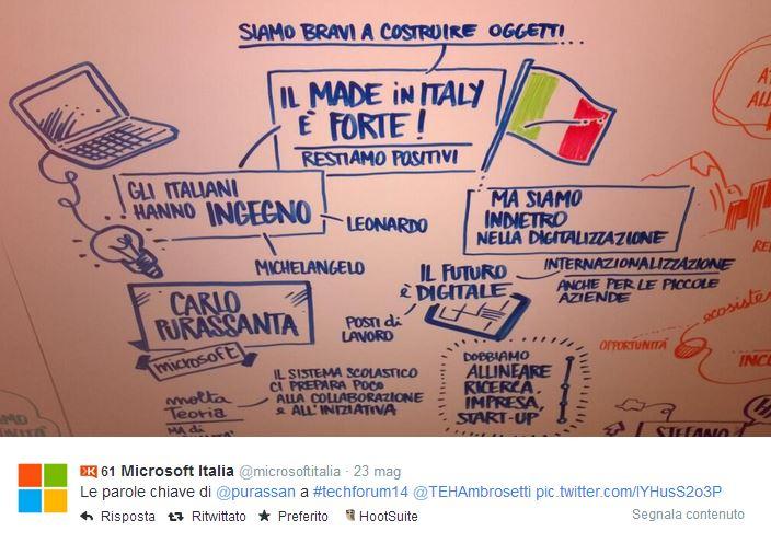 Technology forum Ambrosetti con Rosa Giuffre