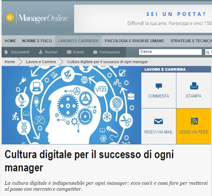 Manager Online Rosa Giuffrè