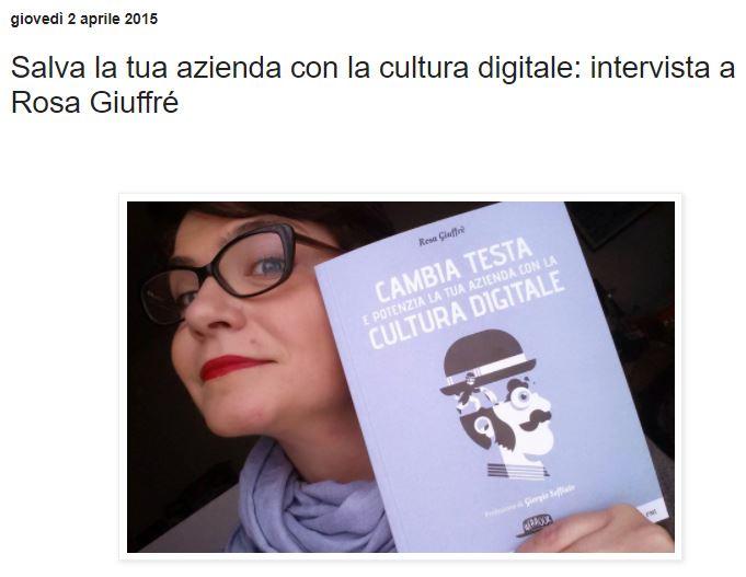 intervista Rosa Giuffrè corsi social network a Como