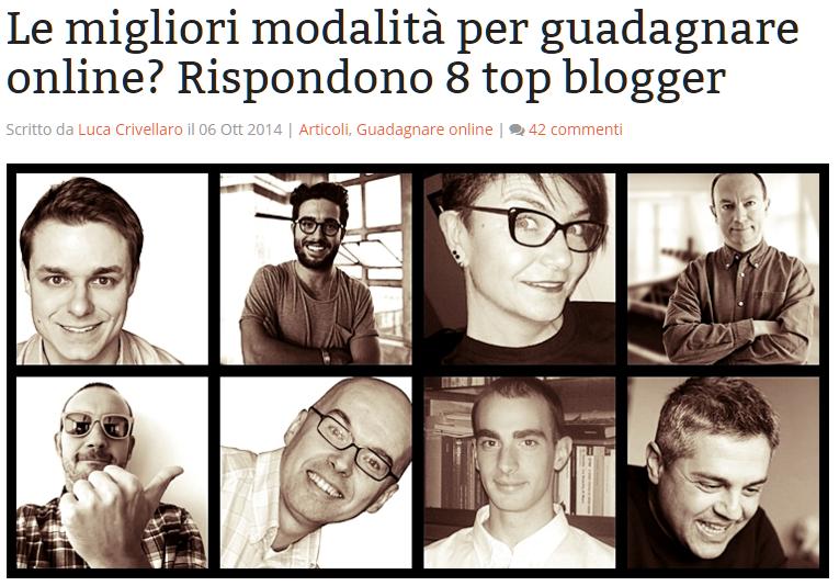 intervista a Rosa Giuffrè Blogger