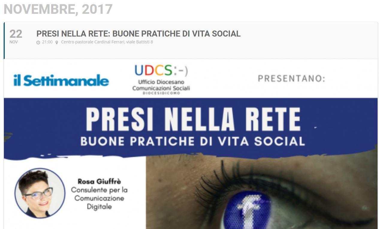presi nella rete: rischi e pericoli della Rete corsi a Como