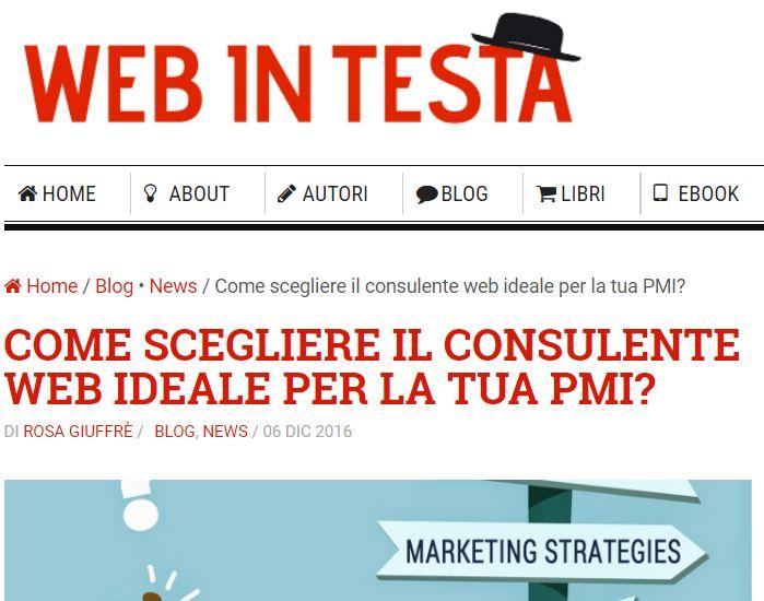 web in testa 3