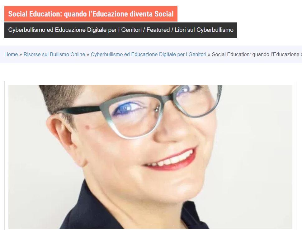 bullismo online a Como - corsi con Rosa Giuffrè