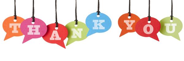 Il ringraziamento più bello è l'interazione