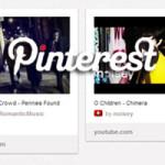 Pinterest, i video e Slideshare