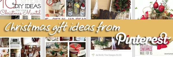 Christhmas gift ideas from Pinterest: 6 bacheche originali (+1 per te)