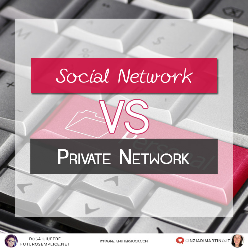 Social Network o Private Network?