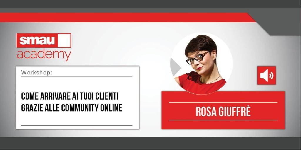 smau academy Rosa giuffrè
