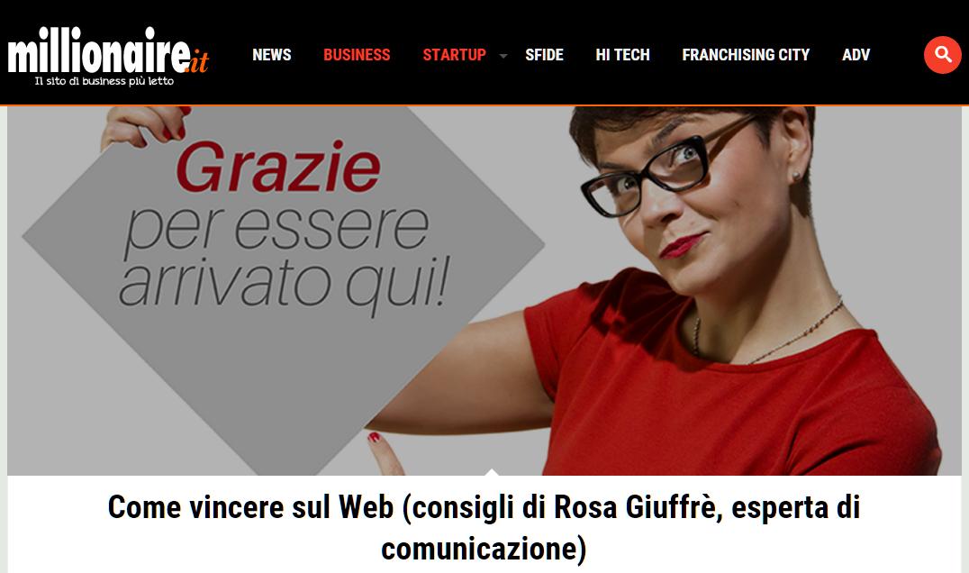 Rosa Giuffrè Millionaire
