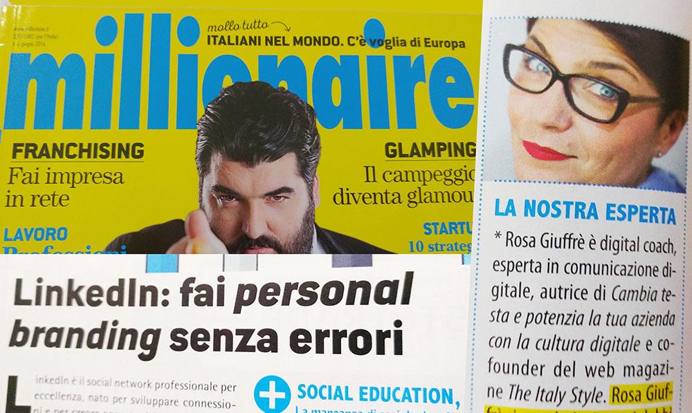 Rosa Giuffrè su Millionaire