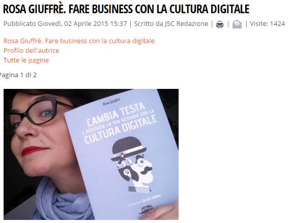 intervista a Rosa Giuffrè consulenza per PMI