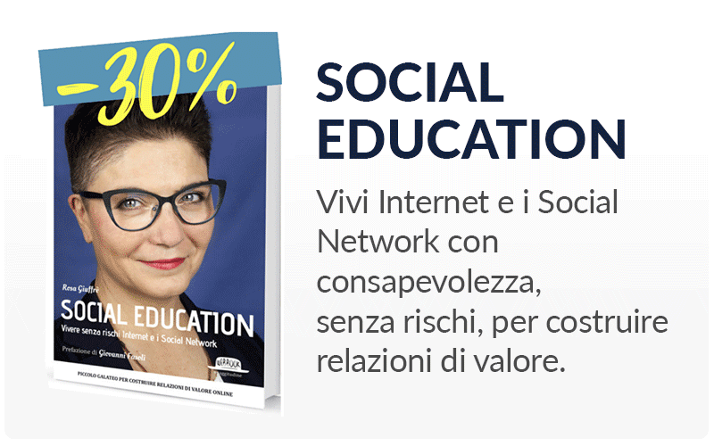 Social education vivere senza rischi Internet e i Social Network