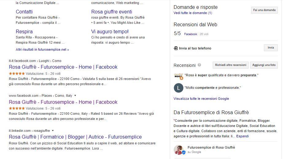 scheda di Google My business 4